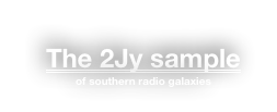 The 2Jy sample 