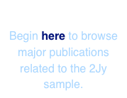 2Jy Publications Begin here to browse major publications related to the 2Jy sample.